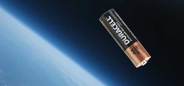 AA Battery in Space